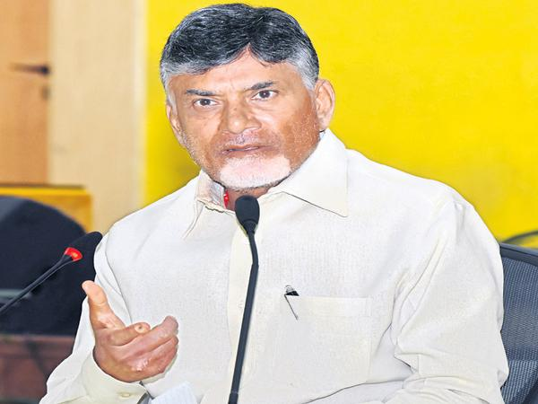 Chandrababu Demands That All of the VVPATs need to be counted - Sakshi