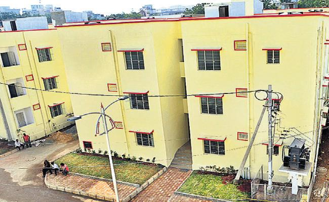 Water And Power Cuts in Double Bedroom Scheme Colonies - Sakshi