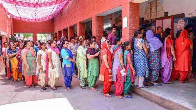 67.11 percentage, 2019 voter turnout highest ever for Lok Sabha polls - Sakshi