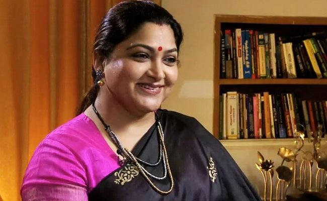 Kushboo Talk About Relationship With Jayalalitha And Karunanidhi - Sakshi