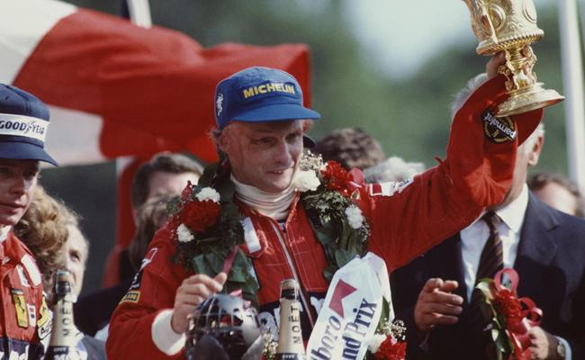 Formula One World Champion Niki Lauda Dies - Sakshi