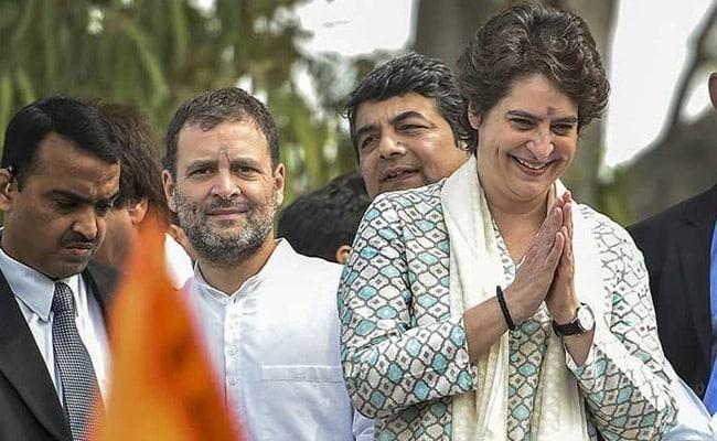 Shiv Sena Unusual Praise For Rahul Gandhi And Priyanka - Sakshi