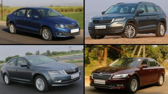 Skoda Cars Available With Benefits Of Upto Rs 1.75 Lakh - Sakshi