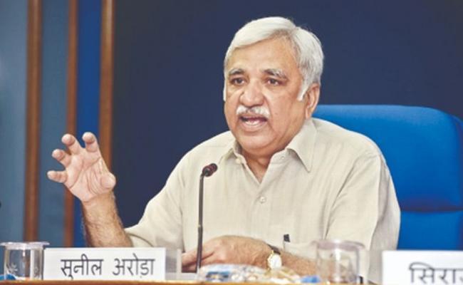 Election Commissioners Meeting On Ashok Lavasa Issue - Sakshi