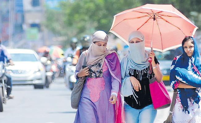 Temperature Rising Across Telangana - Sakshi