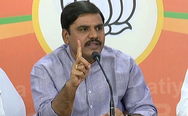 BJP Leader Vishnuvardhan Reddy Fire On Chandrababu Naidu In Hyderabad - Sakshi