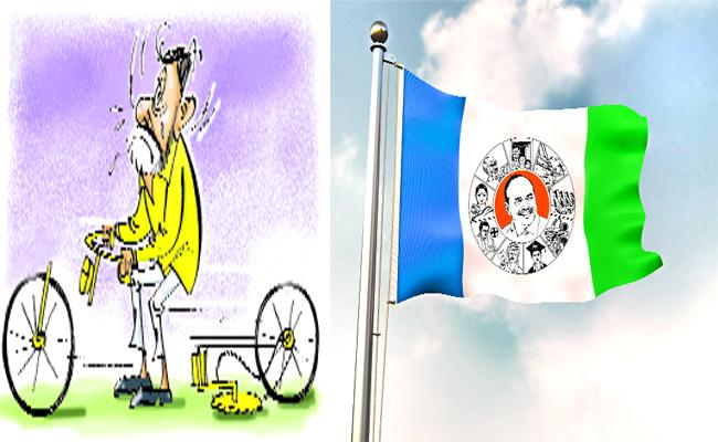 TDP in Tension Over Winning Where As YSRCP in a Cool About Their Win - Sakshi