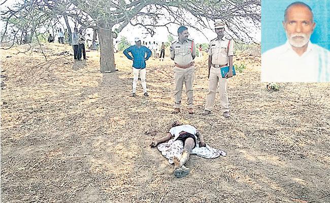 Man Brutally Murdered In Rangareddy - Sakshi