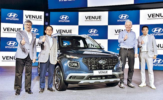 Hyundai Venue: Key Features Explained In Detail - Sakshi