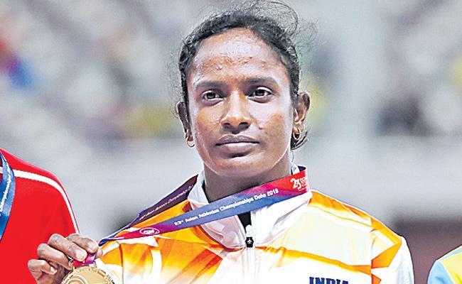 Gomathi Marimuthu fails dope test twice - Sakshi