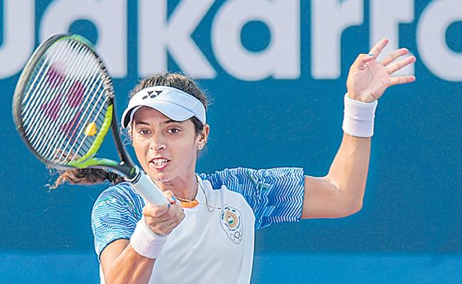 Ankita Raina goes down in French Open first round qualifiers - Sakshi