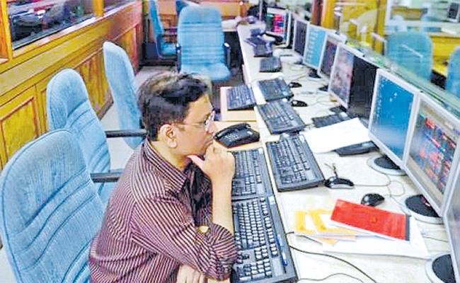 Sensex, Nifty come off lifetime highs as exit polls euphoria fades - Sakshi