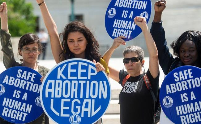 Womens Protests Across America Against Abortion Bans - Sakshi