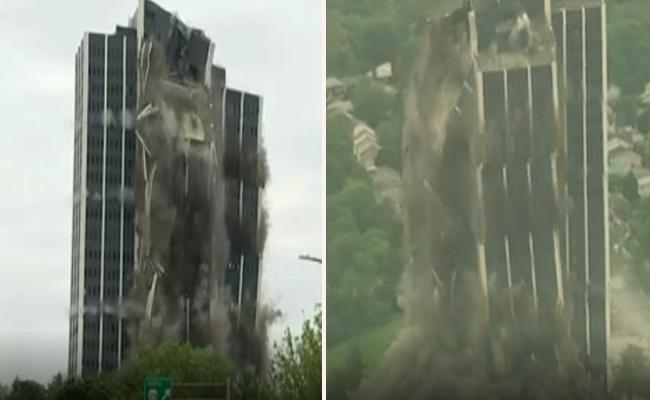 16000 Tonnes Of Steel Gone In 16 Seconds - Sakshi