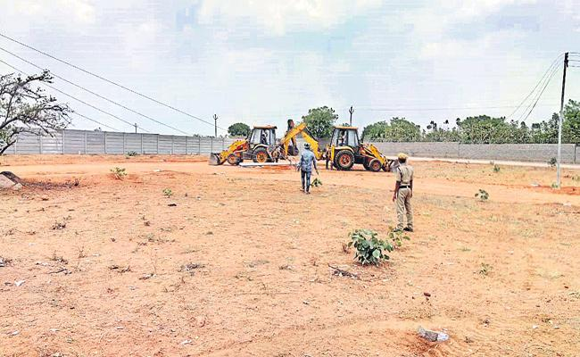 HMDA Targets Illegal Constructions in Hyderabad - Sakshi