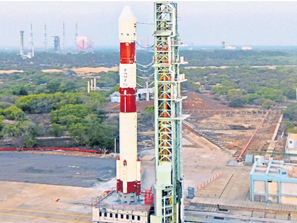 Preparations were made to conduct the PSLV C 46 experiment - Sakshi
