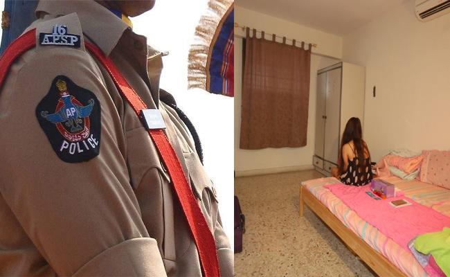AP Police Demand Bribery Women in Lodge Room - Sakshi
