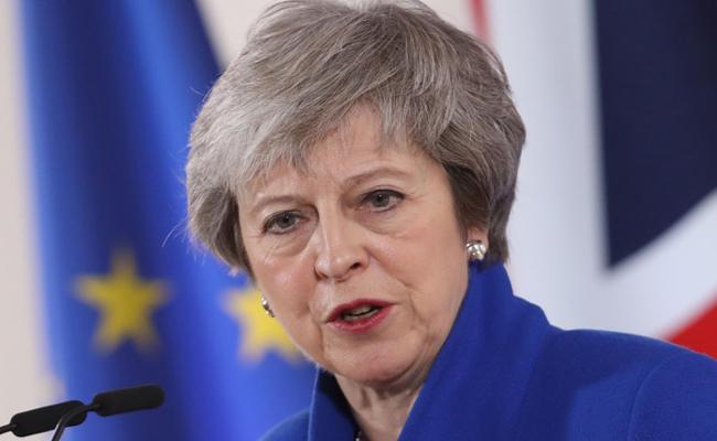 Theresa May Propose New Deal On Brexit - Sakshi