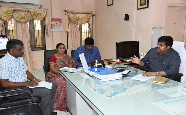 Election Poll Counting Arrangements In Nellore - Sakshi