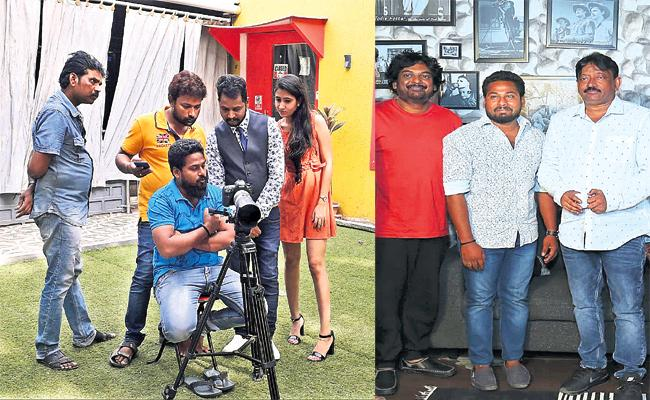 Sudhakar Intrest in Cinematography - Sakshi