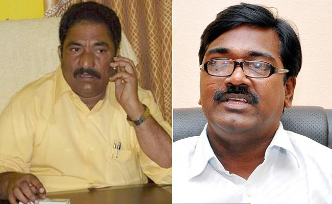 telangana congress complaint against mla sandra, puvvada ajay in Lokpal - Sakshi