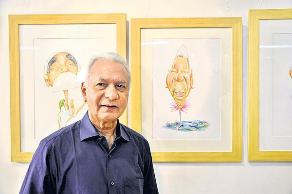 Famous painter Surya Prakash is dead - Sakshi