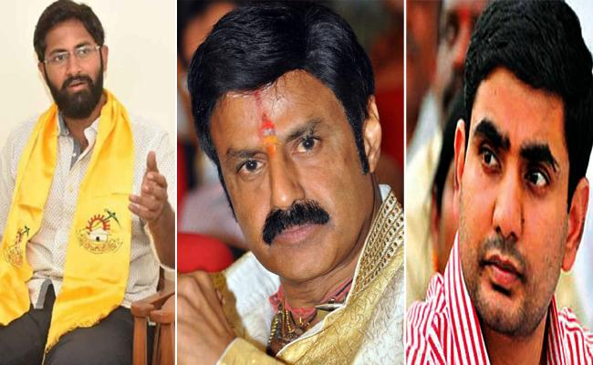 Nara Lokesh And Bharat Lose In Elections Balakrishna Win - Sakshi