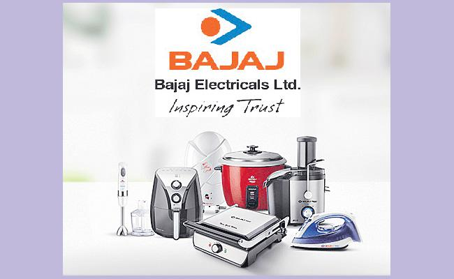 Bajaj Electricals Q4 jumps twofold to Rs 28.54 crore - Sakshi