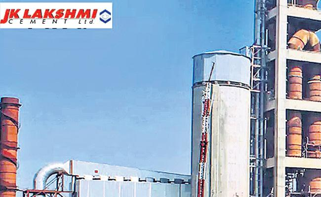 JK Lakshmi Cement Q4 net up 28% at Rs 43 crore - Sakshi