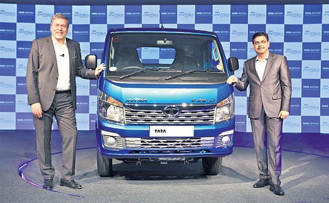 Tata Motors bets on Intra for bigger SCV segment pie - Sakshi