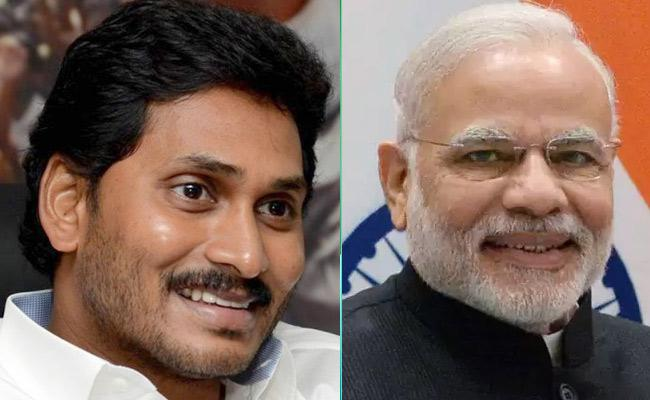 PM Modi Congratulates YS Jagan Mohan Reddy Over Election Results - Sakshi