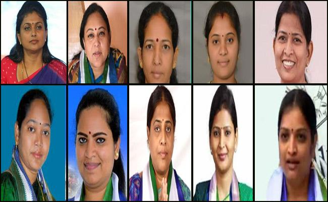 YSRCP Women Candidates Massive Victory In Assembly Elections - Sakshi