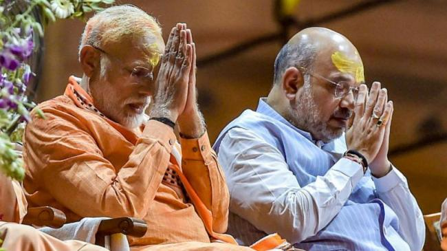 BJP Clean Sweeps Gujarat In Lok Sabha Elections - Sakshi