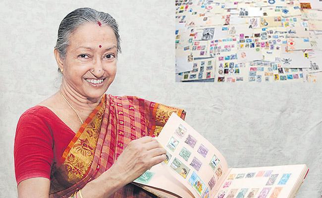 Dad hidden stamps Durga is the Heiress - Sakshi