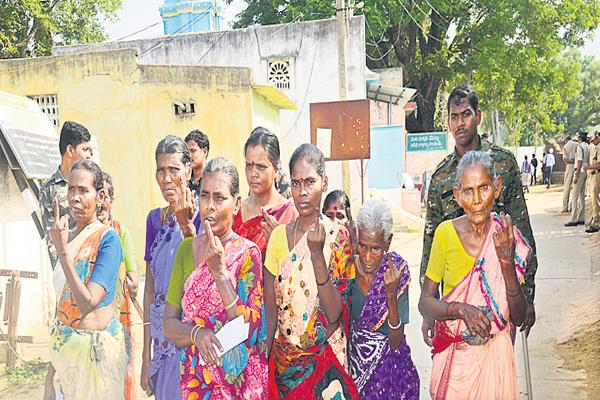 Question of Dalits who voted in Chandragiri constituency - Sakshi