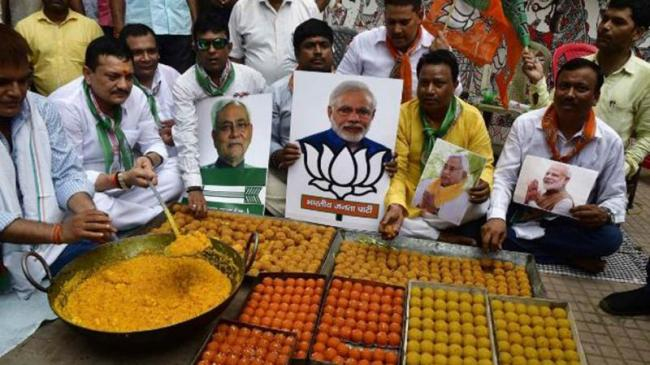 Namo Wave Hits Bihar As Bjp Leads In All Seats - Sakshi