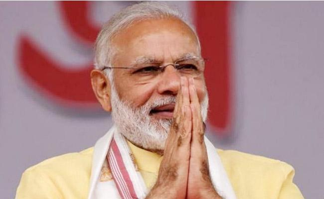 PM Modi Tweets This Is India Win Over Election Results - Sakshi