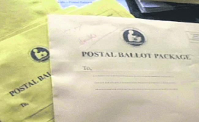 Set back to TDP in Postal ballet - Sakshi