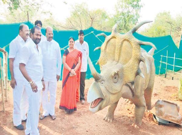 DinoWorld in Telangana  - Sakshi