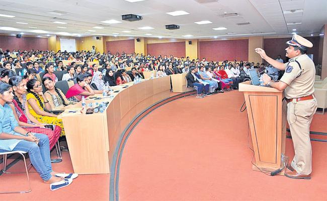 She Temas Awareness in Colleges - Sakshi