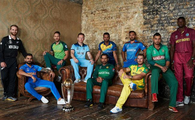 Kohli and other captains photo shoot Ahead of World Cup - Sakshi