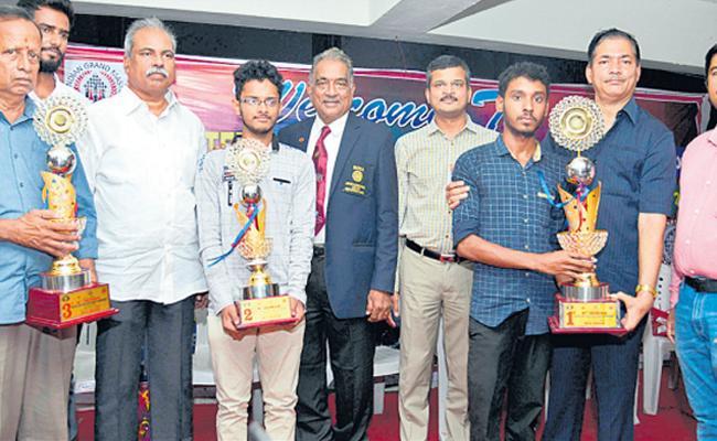Siddiq Akbar Gets Chess Title - Sakshi