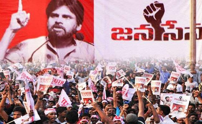 Janasena Chief Pawan Kalyan Falls In Polls - Sakshi