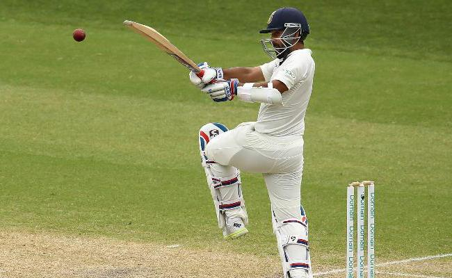Ajinkya Rahane becomes 3rd Indian batsman to hit hundred on County debut - Sakshi