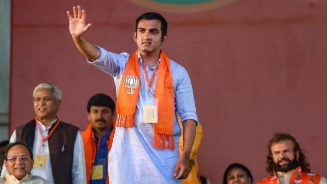 Gautam Gambhir Salutes Narendra Modis Leadership - Sakshi