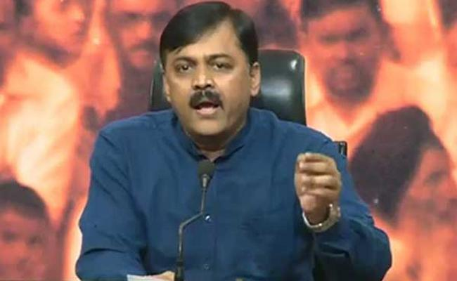 GVL Narasimha Rao Criticises Chandrababu Over TDP Defeat - Sakshi