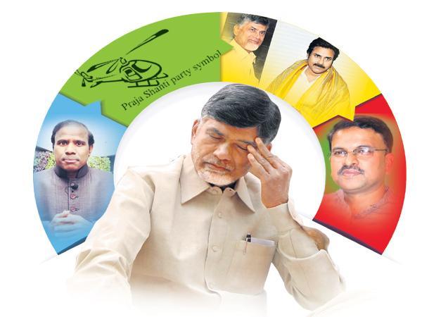 Chandrababu Conspiracies was failed in elections - Sakshi