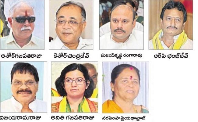 TDP Seniors Are Not Get Even One Seat In Vizianagaram - Sakshi