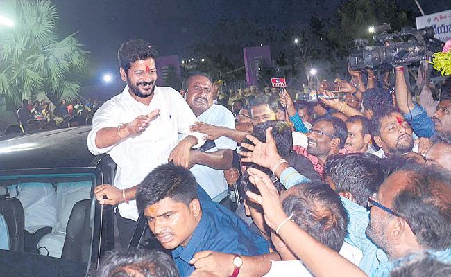 Revanth Reddy wins in Malkajgiri - Sakshi