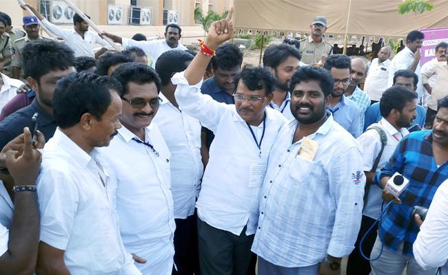 Simhadri Rameshbabu Creates History In Avanigadda Assembly Constituency - Sakshi